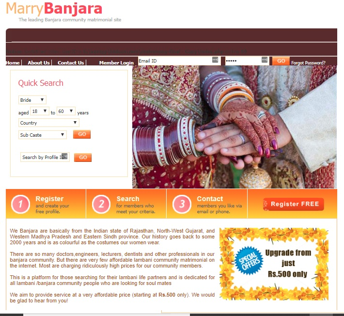 Online matrimonial system php youtube.